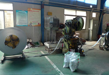 Suspension Bands Punching Coil Line