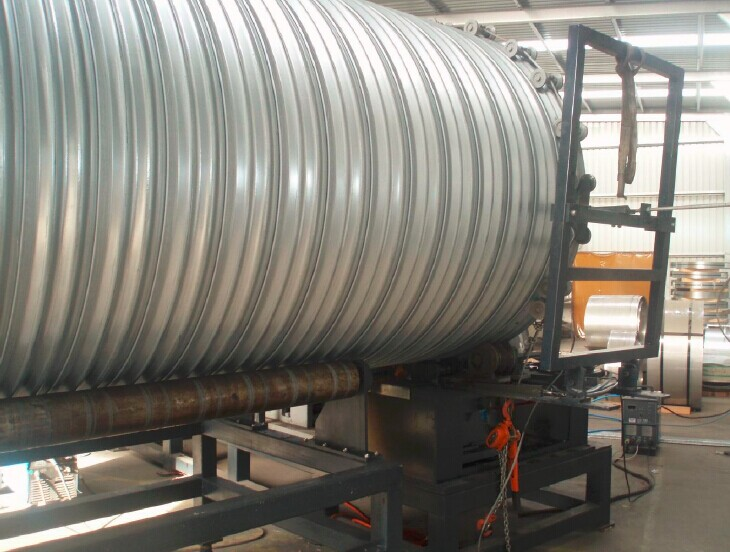 Ribbed Corrugated Pipe Machine Storm Drain
